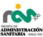ARTÍCULO PUBLICADO EN LA REVISTA SOBRE ADMINISTRACIÓN SANITARIA