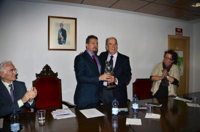 Ceremonia de entrega del premio Quijote 2011