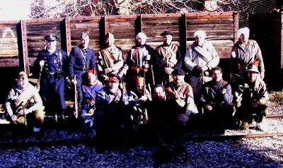 Recreación de la vida en el frente durante la guerra civil en Morata de Tajuña