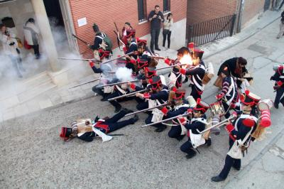 Recreación de la Batalla de Uclés de la Guerra de la Independencia