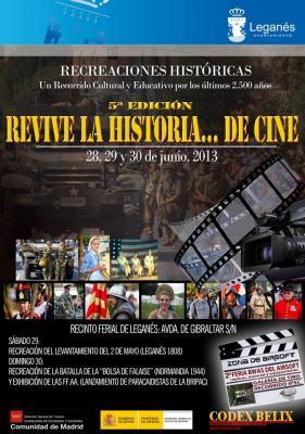 Revive la historia en Leganés