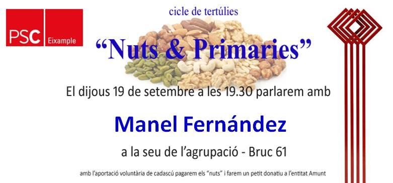 Presentación de la candidatura a las primarias del Ayuntamiento de Barcelona
