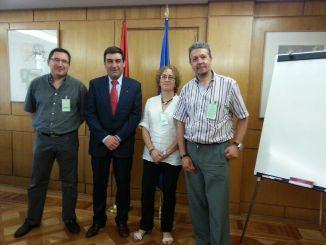 Como representante de AESI, en una reunión el Ministerio con para hablar de las Altas Capacidades