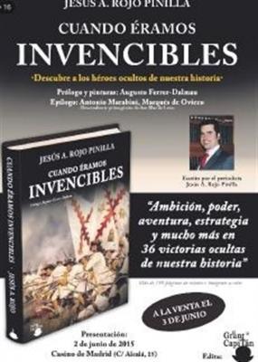 Presentación del libro Cuando éramos invencibles